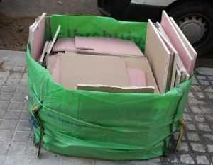 reciclaje de yeso