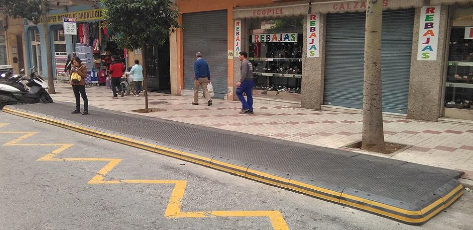 Paradas de bus accesibles