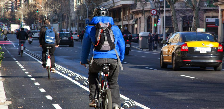 bicicleta en Barcelona