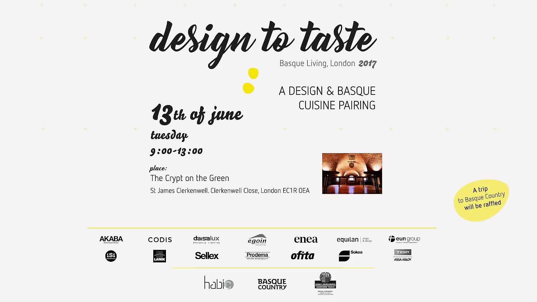 design to taste