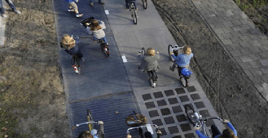 carril bici fotovoltaic
