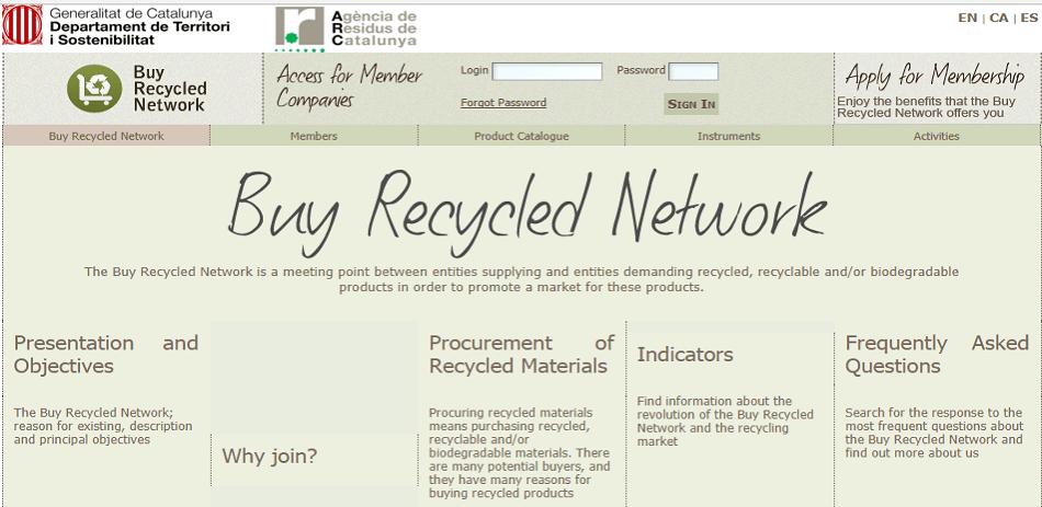 Red compra reciclado