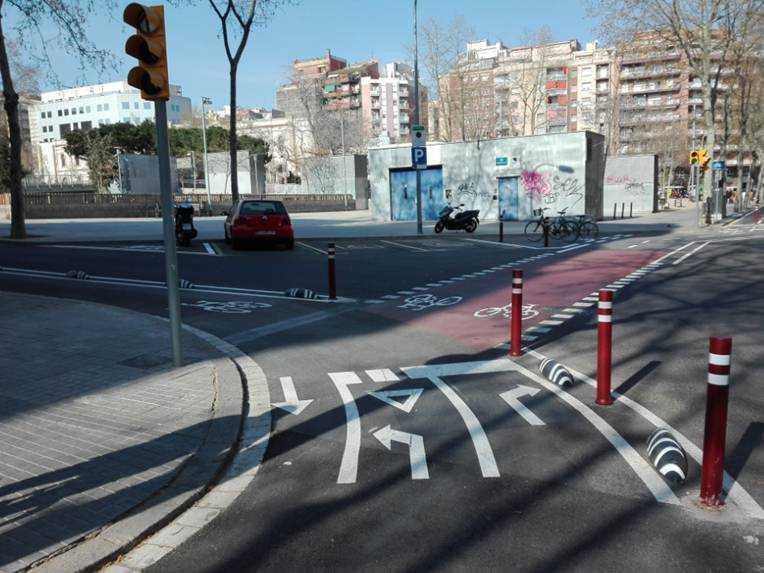 mejora de los carriles bici