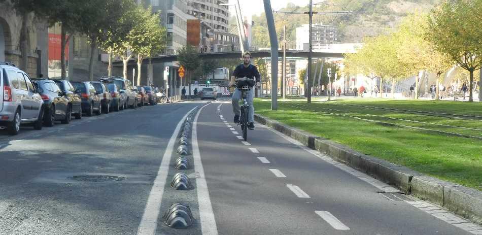 Carril bici bilbao