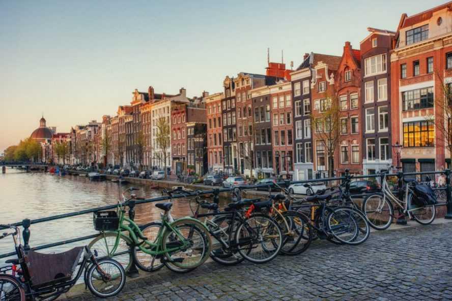carril bici amsterdam holanda