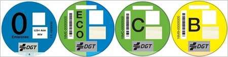 distintiu ambiental per a vehicles