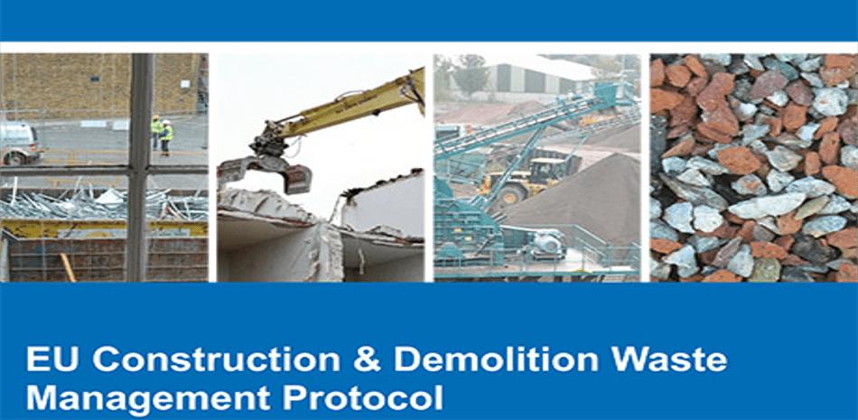 Protocolo de gestión de residuos de construcción y demolición