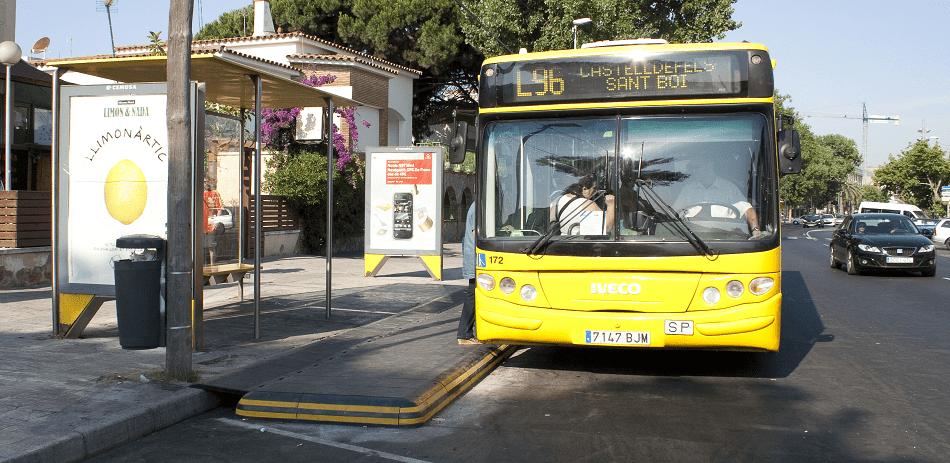 bicicletas en autobuses interurbanos