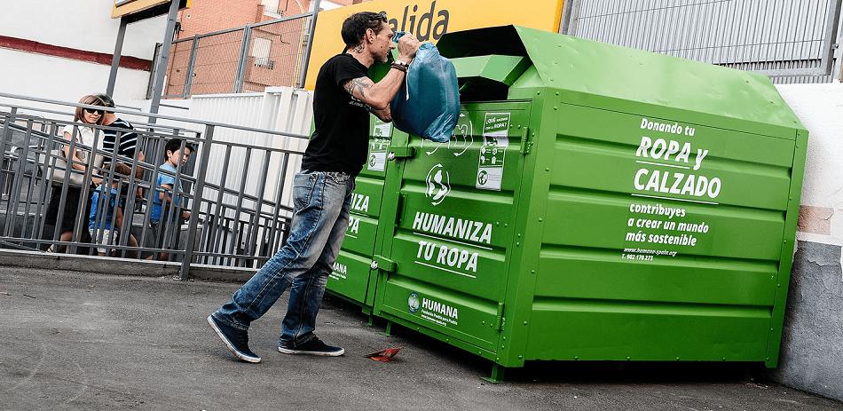 reciclaje de prendas