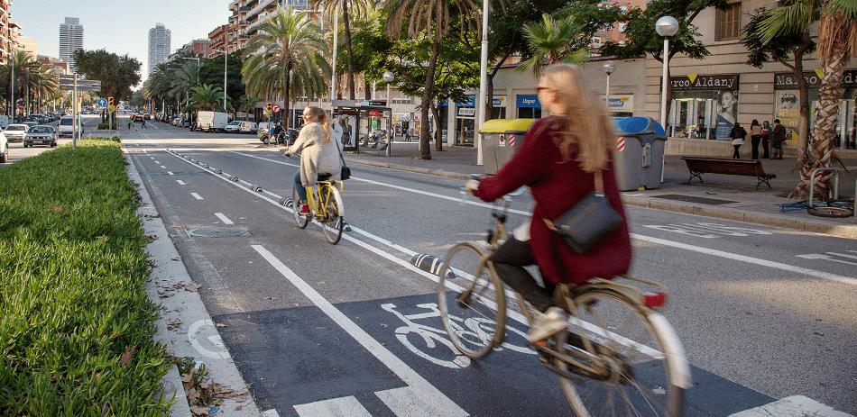 usuaris de la bicicleta