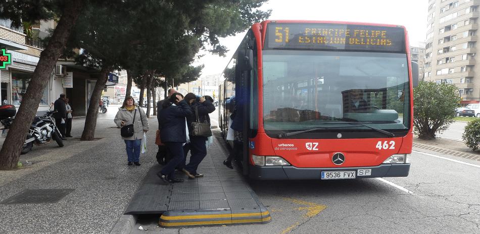 red de autobuses de zaragoza