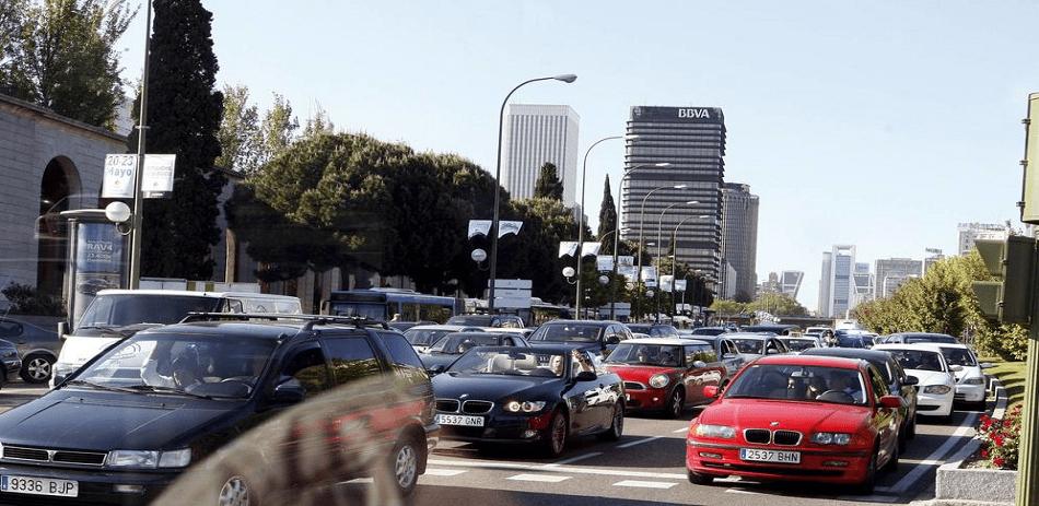 contaminación acústica en Madrid