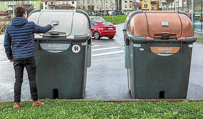 recogida de residuos en Euskadi