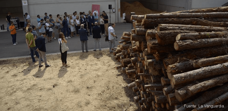 centre logístic de biomassa del Vallès