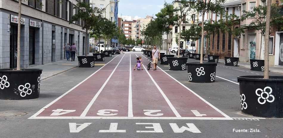 Superilla Poblenou: urbanismo sostenible e inclusivo.